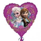 Frozen foliový balónek srdíčko 45cm