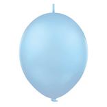 Balónek řetězový 1ks - Sky Blue