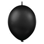 Balónek řetězový 1ks - černá