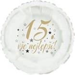 15. narozeniny balónek kruh