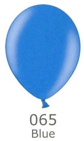Balónek modrý metalický 065