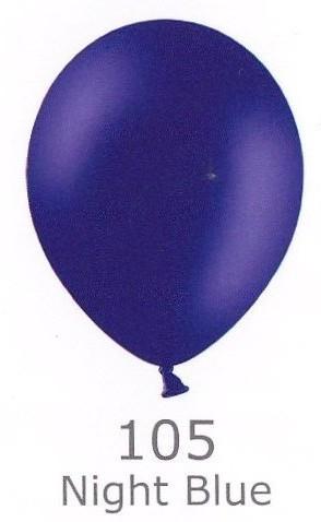 Balónek NIGHT BLUE 105