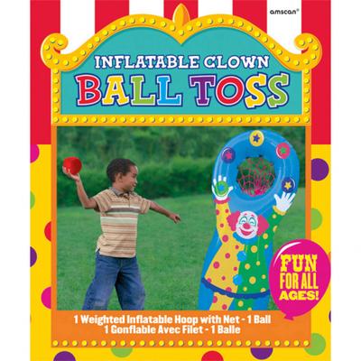Hra pro děti hod do koše klauna