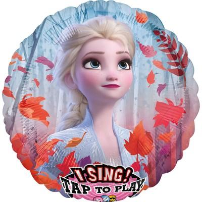 Frozen hrající balónek 71 cm x 71cm