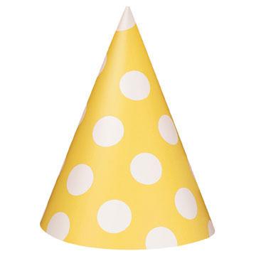 c955ed35347 Čepice žluto - bílé 8ks