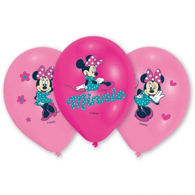 Minnie balónky 6ks 27,5cm