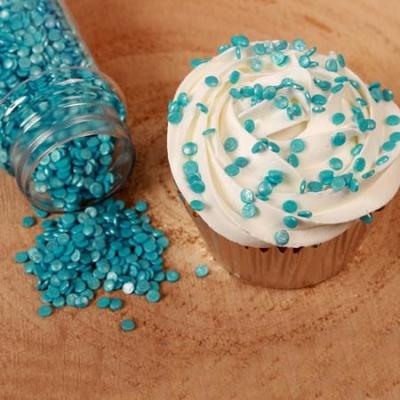 Sypání na dort FunCakes modré konfety 60g