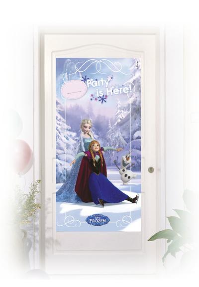 Frozen Ice Skating plakát na dveře 76cm x 152cm