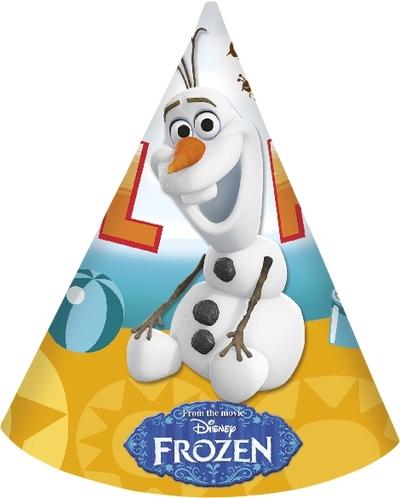 Olaf čepičky 6ks