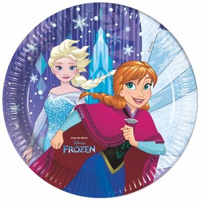 Frozen talíře 8ks 23cm