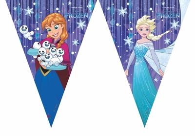 Frozen vlajka 23m 9ks