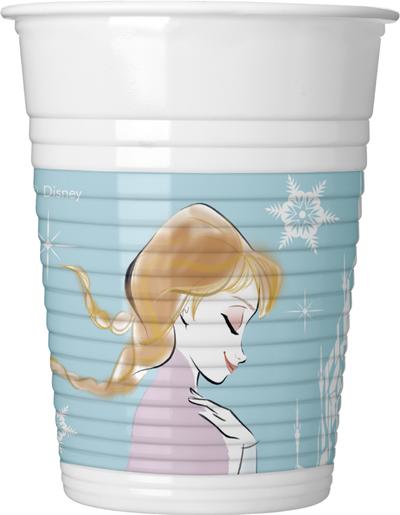 Frozen plastové kelímky 8 ks, 200 ml