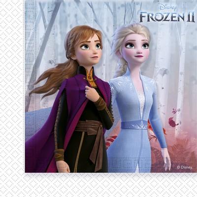 Frozen ubrousky papírové 20 ks 33 cm x 33 cm