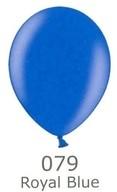 Balónky metalické - 079 ROYAL BLUE