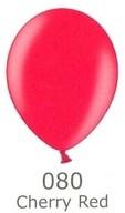 Balónky metalické - 080 CHERRY RED