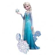 Frozen Elsa chodící balónek 88cm x 144cm