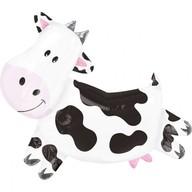 Foliový balónek kráva 76cm x 71cm
