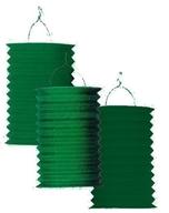 Lampion zelený 28 cm ,1ks