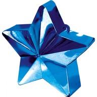 Závaží na balónky hvězda Blue