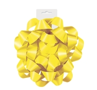 Dárková mašle saténová žlutá 15,5cm