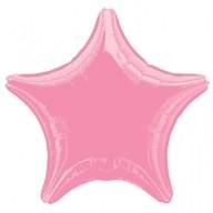 Balonek hvězda růžová