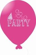 Balónky PARTY růžové 5ks