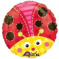 Foliový balonek beruška 45 cm
