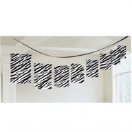 Lampionové girlandy zebra 3,65m