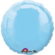 Balónek kruh Light Blue Iridescent 43cm