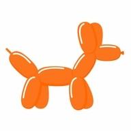 Tvarovací balónky oranžové
