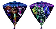 Monster High foliový balónek diamant 38 x 43cm