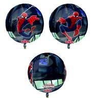 Spiderman foliový balónek kulatý 38x40 cm