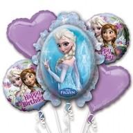 Frozen set foliové balónky k narozeninám 5ks