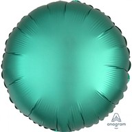 Balónek kruh satén zelený 43 cm