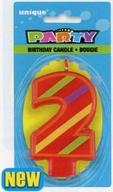 Svíčka na dort číslo 2