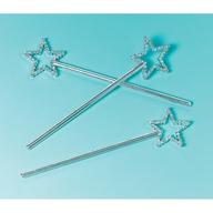 Princess hvězda 12ks stříbrná 17cm