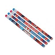 Spiderman tužka s gumou 12ks