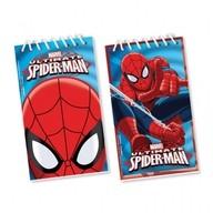 Spiderman bločky na kreslení 12ks