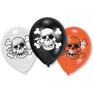 Balónky pirati 6ks