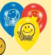 Smiley World - balonky 6ks