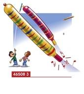 Balónek raketa 8ks