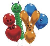 Balonek postavičky mix 10ks