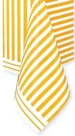Ubrus žluté proužky 137cm x 274cm