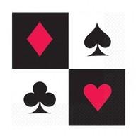 Casino ubrousky 20ks 33cm x 33 cm
