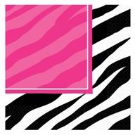 Zebra party ubrousky 16ks 33cm x 33cm