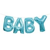 Baby nápis modrý 2,7m