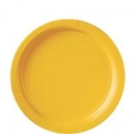 Talíře Yellow 8ks 23 cm