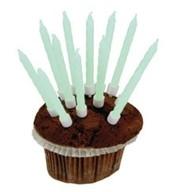 Dortové svíčky 10 ks zářící