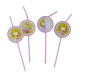 Sweet Little Princess slámky 6ks plastové