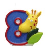 Safari svíčka číslo 8